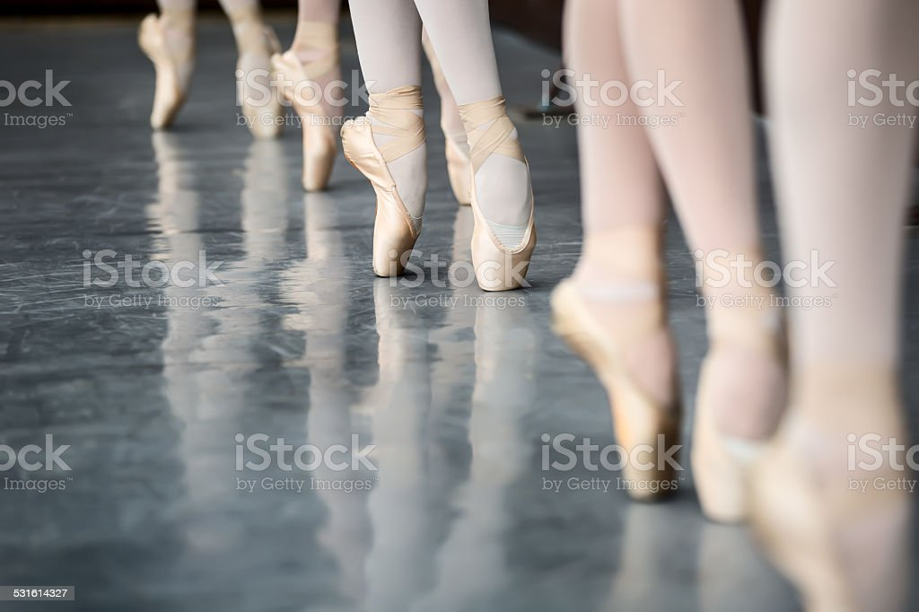 Legs dancers stock photo