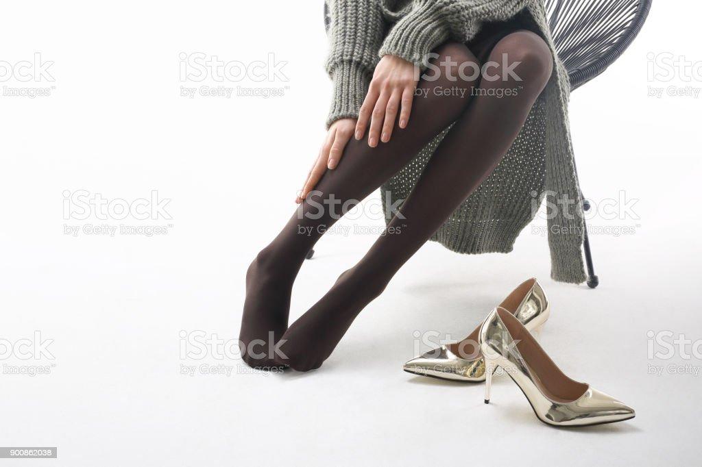 Beine massage. – Foto