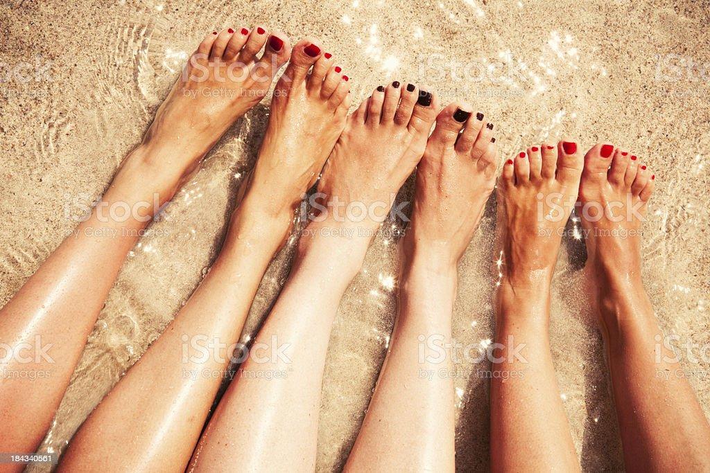 Beine Frauen – Foto