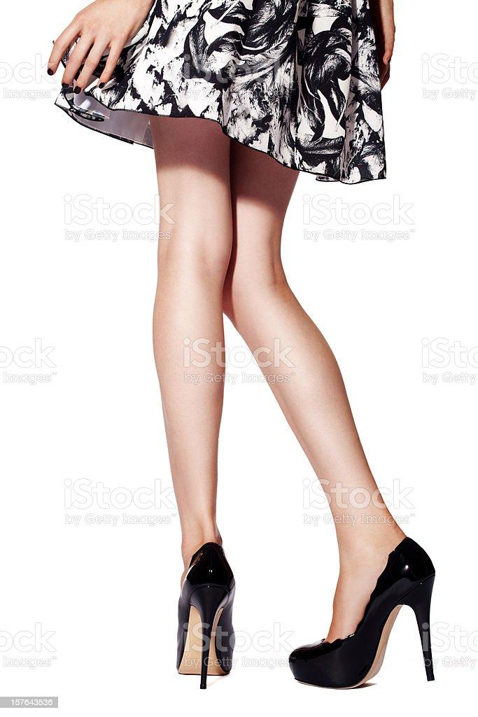 Las piernas - foto de stock