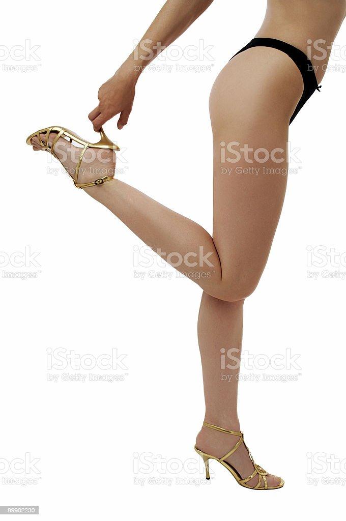 Las piernas foto de stock libre de derechos