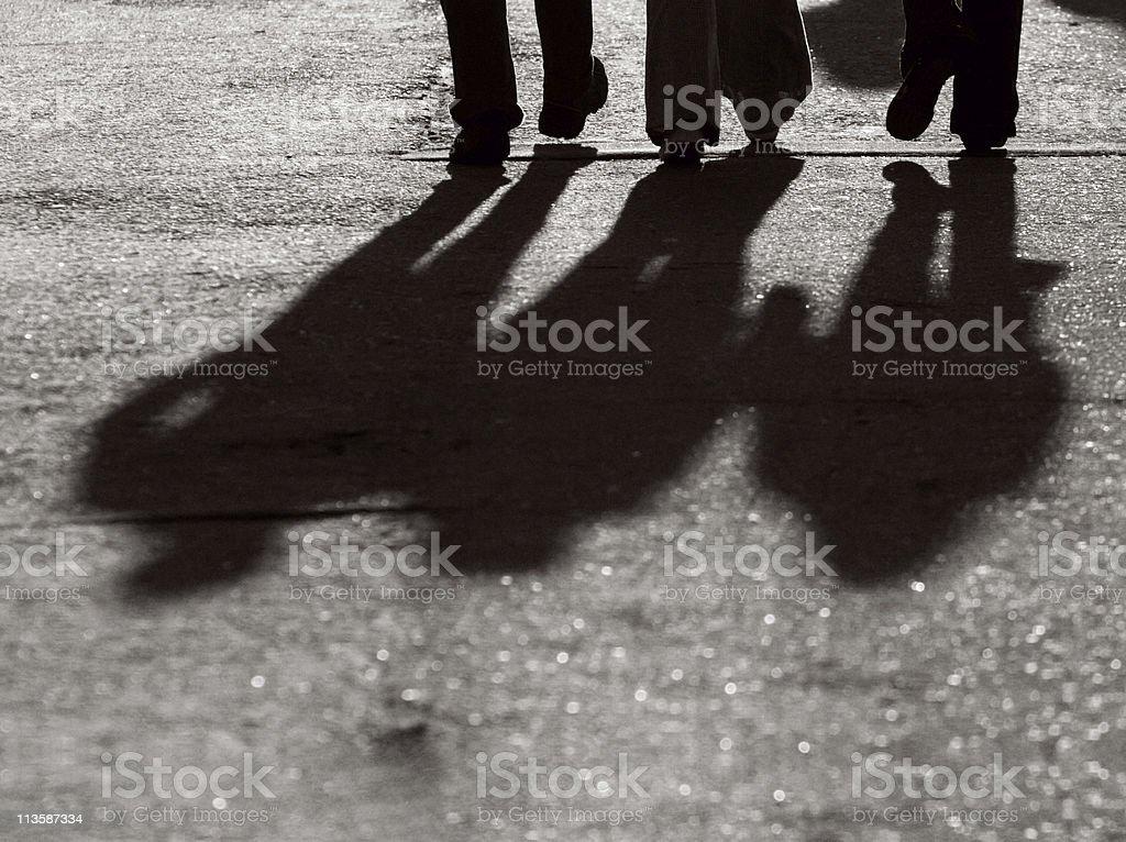 Legs Silhouette stock photo