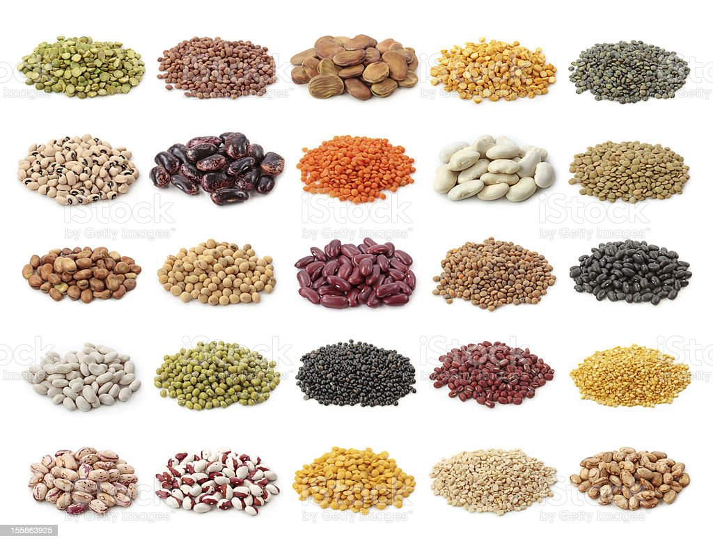 Legume collection royalty-free stock photo