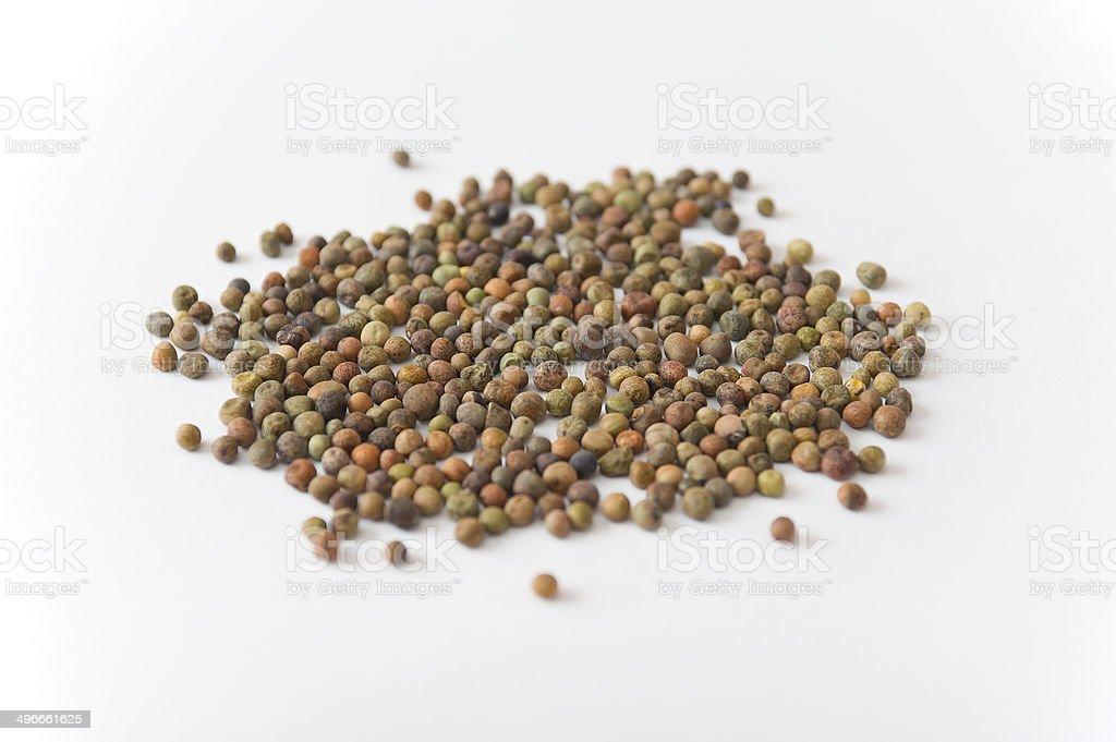 Legume Roveja seeds royalty-free stock photo