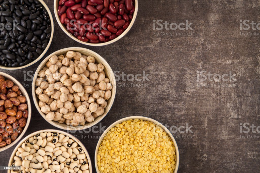 Legumes and Beans stock photo
