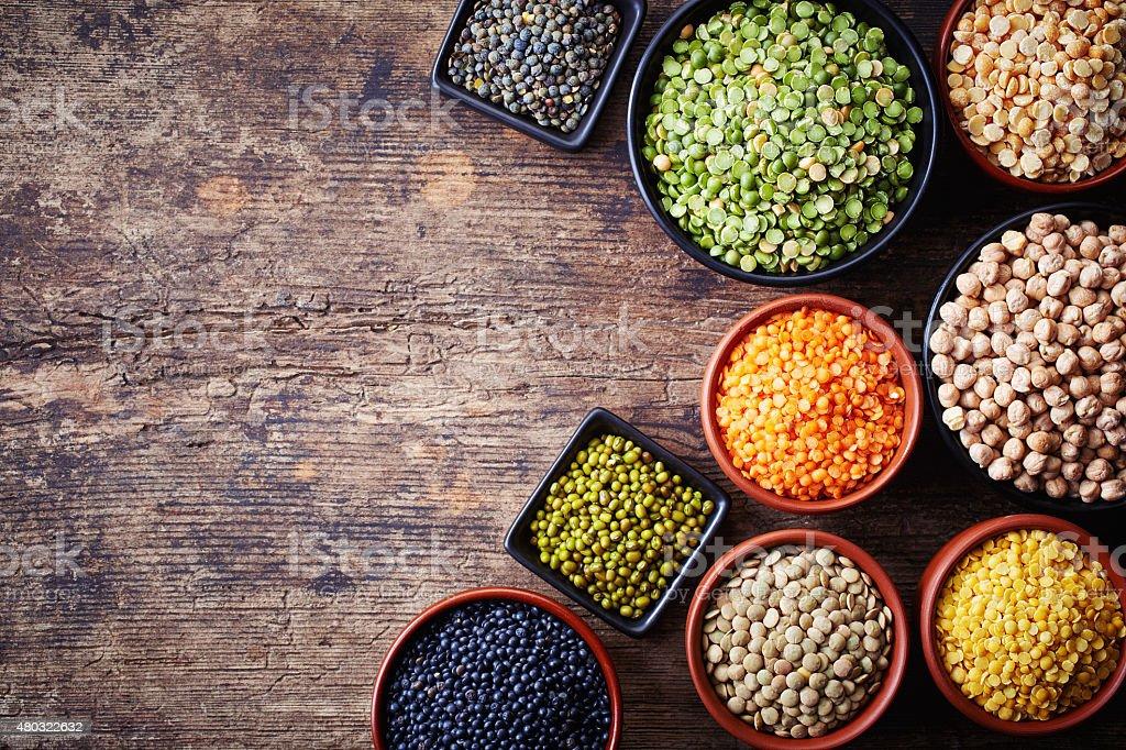 Legumes stock photo