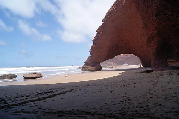 Legzira Beach, Marruecos - foto de stock