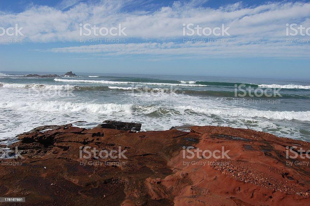 Legzira beach, Sidi Ifni - Morocco royalty-free stock photo