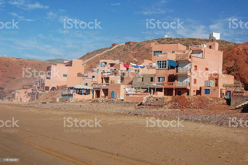 Legzira, Sidi Ifni - Morocco royalty-free stock photo