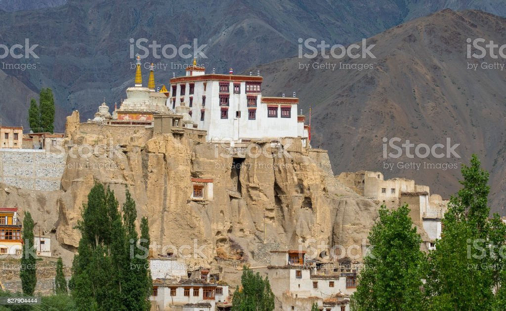Leh Palace in Leh,Ladakh, India stock photo
