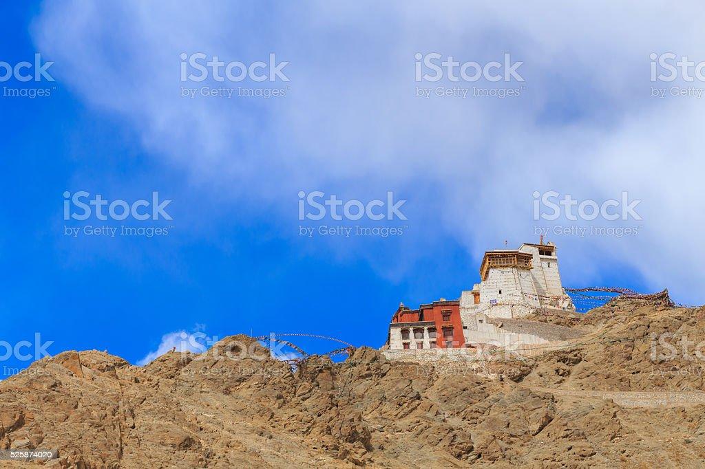 Leh Palace, Ladakh, India stock photo