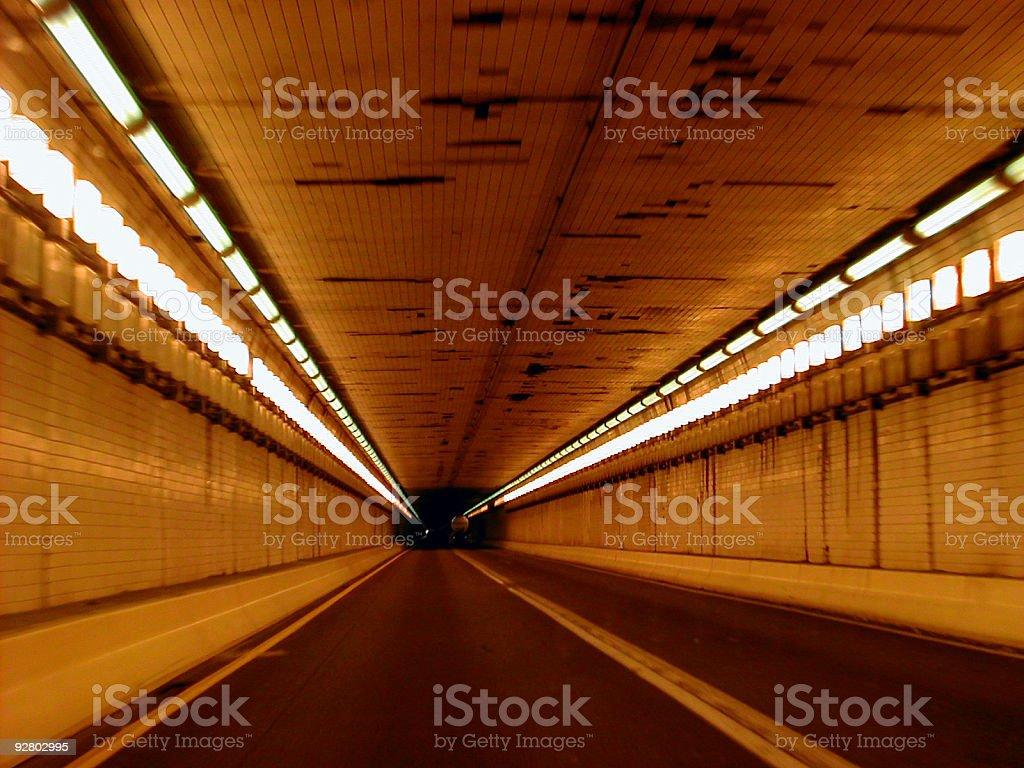 lehigh tunnel 002 royalty-free stock photo