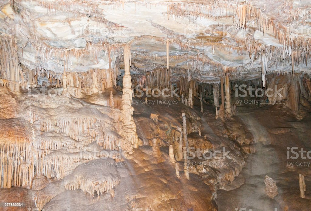 Lehman caves, Great Basin National Park, Nevada royalty-free stock photo