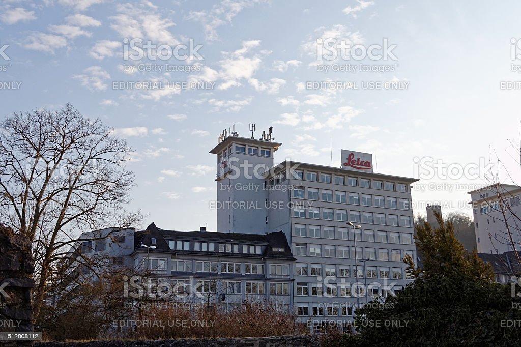 Leica building in Wetzlar stock photo