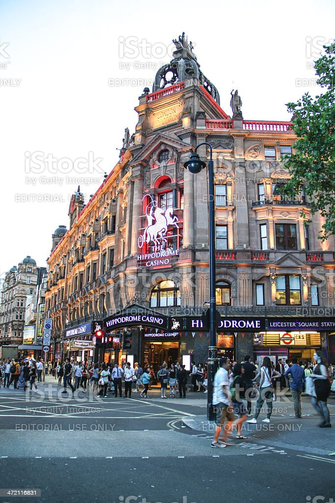 Leicester Square, London stock photo
