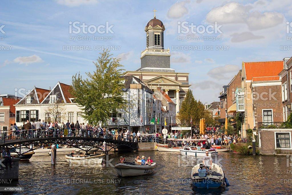 Leiden, Holland stock photo