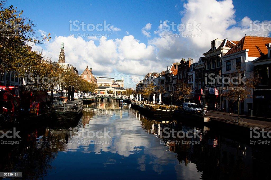 Leiden stock photo