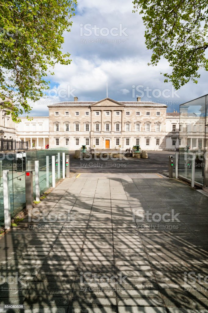Leinster House in Dublin, Irland – Foto