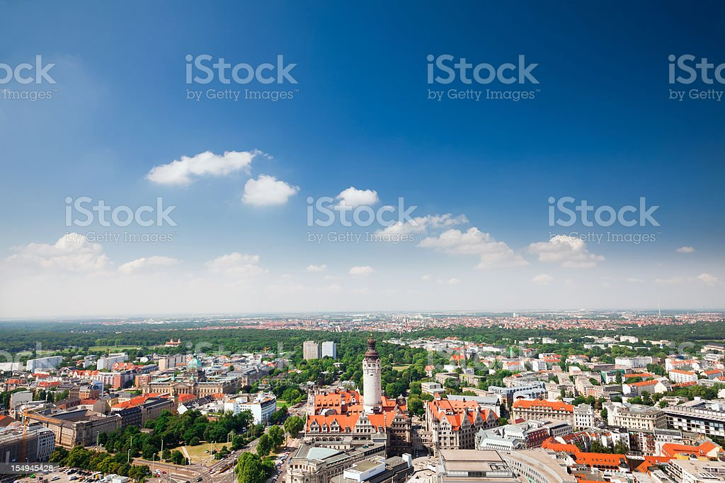 Leipzig, Germany stock photo