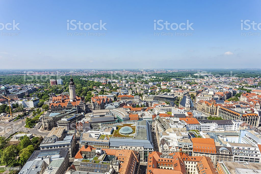 Leipzig, Germany royalty-free stock photo