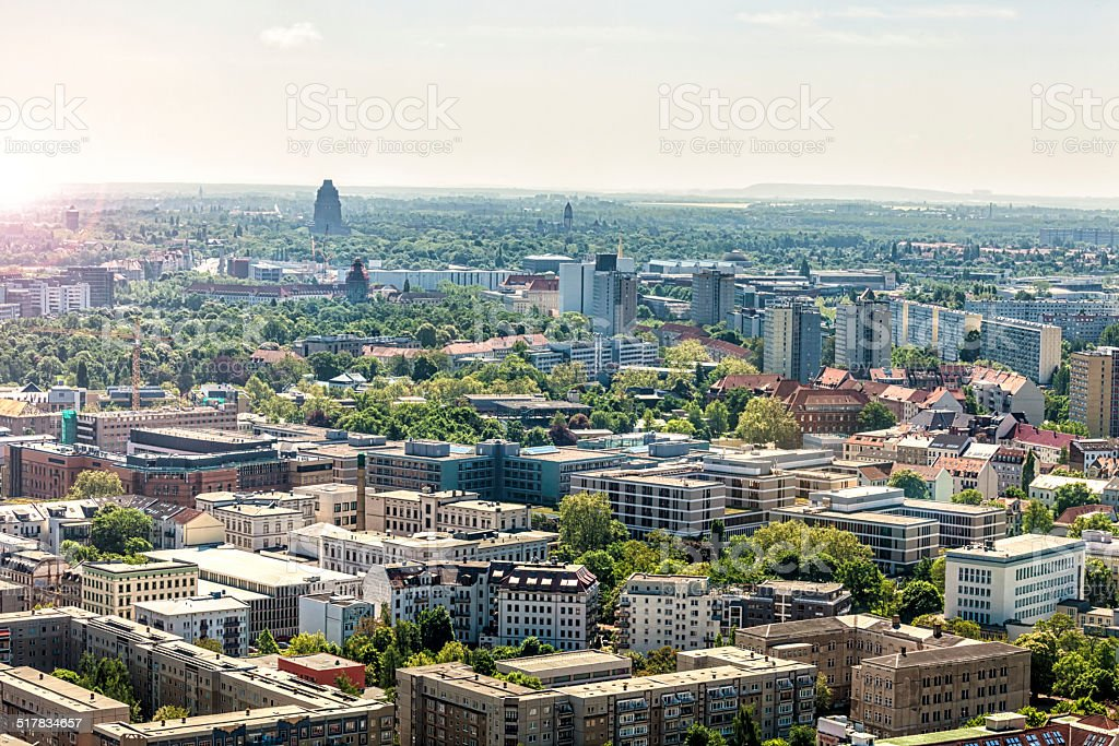 Leipzig in Germany stock photo