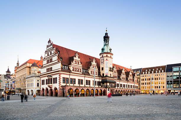 Leipzig, Markt und Old Town Hall – Foto