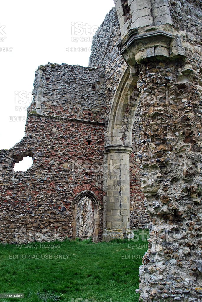 Leiston Abbey royalty-free stock photo