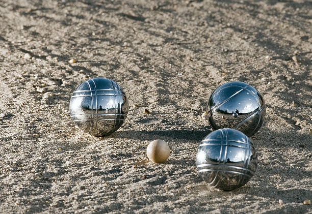 leisure; jeux des boules - cue ball stock pictures, royalty-free photos & images