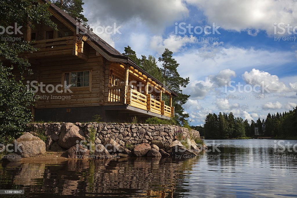 Leisure camp stock photo
