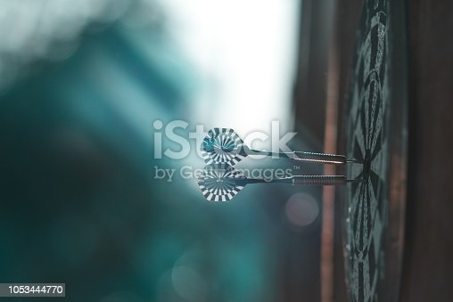 istock leisure darts game background 1053444770