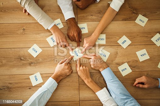 639198068 istock photo Leisure game for brainstorming 1165044203