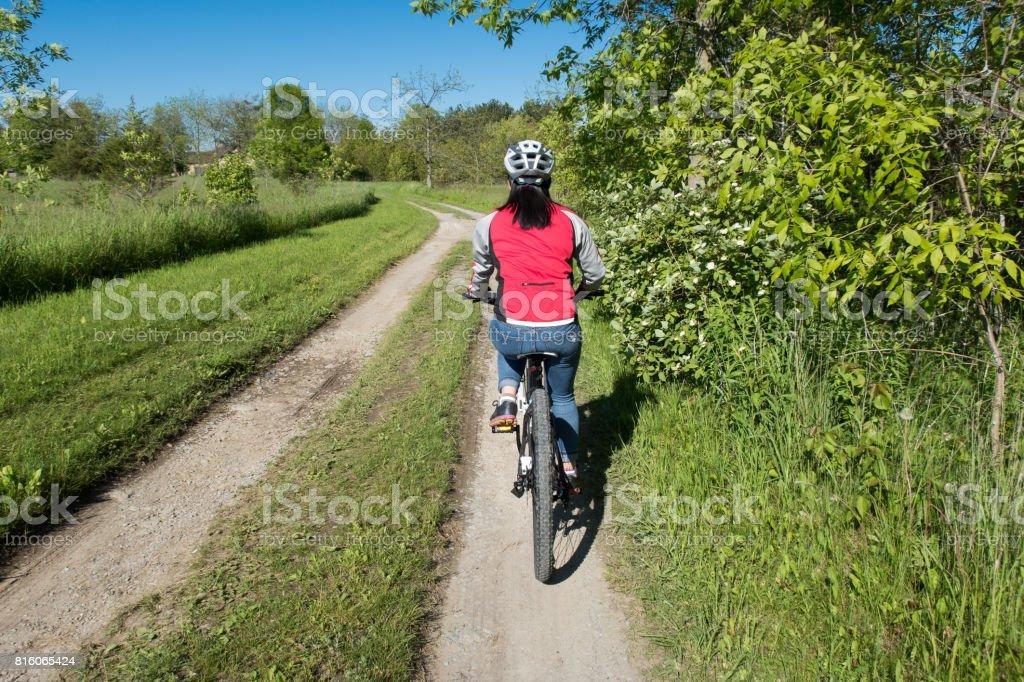Leisure Ride stock photo