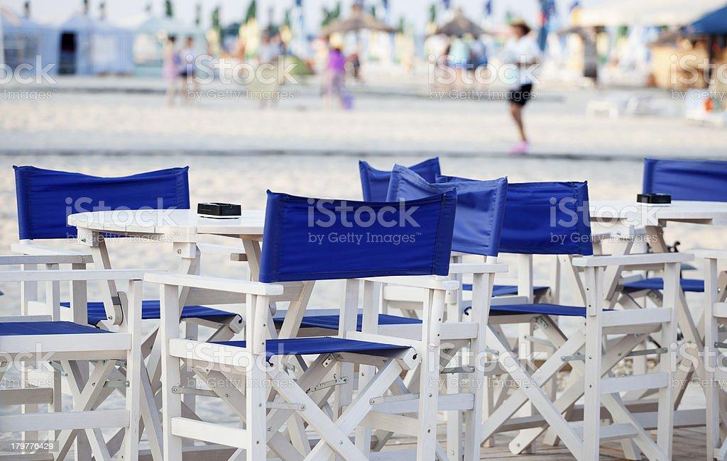 leisure seats royalty-free stock photo