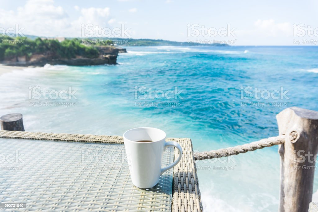 Leisure time in Bali stock photo