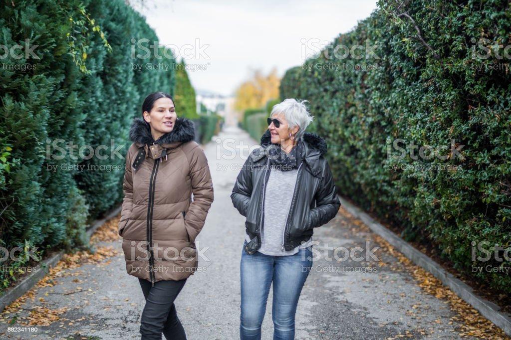 Leisure walks stock photo