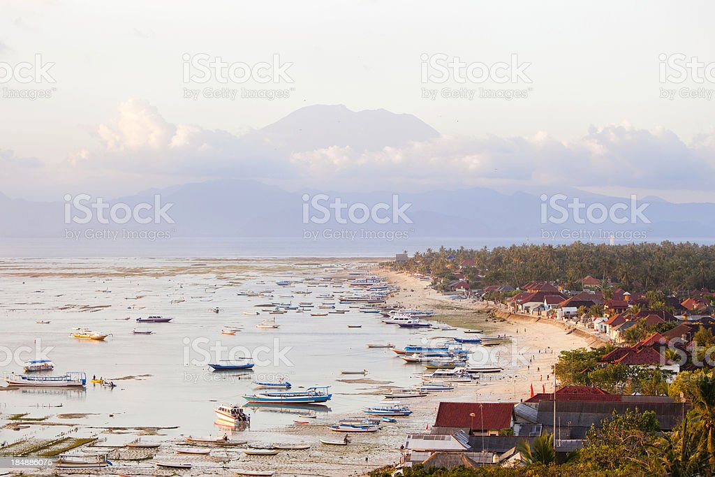 Lembongan royalty-free stock photo