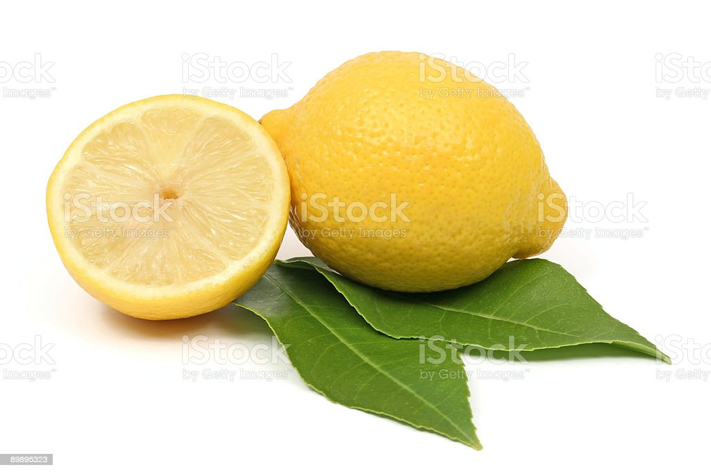 Lemon and a half royalty-free stock photo