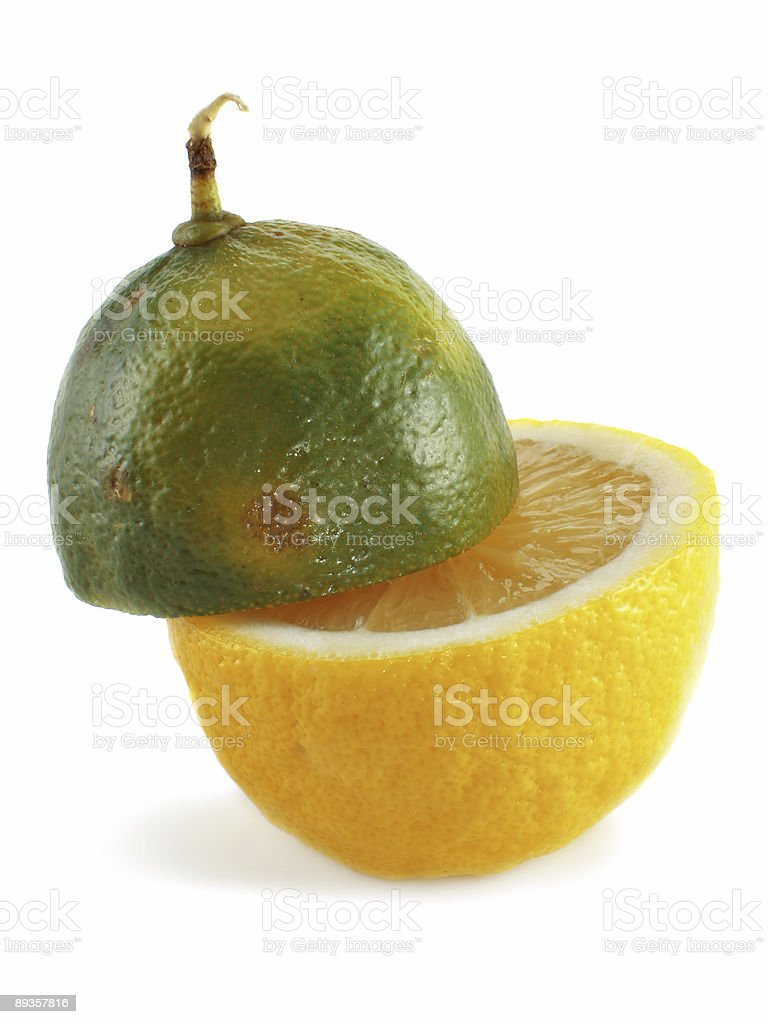 Limone e lime foto stock royalty-free