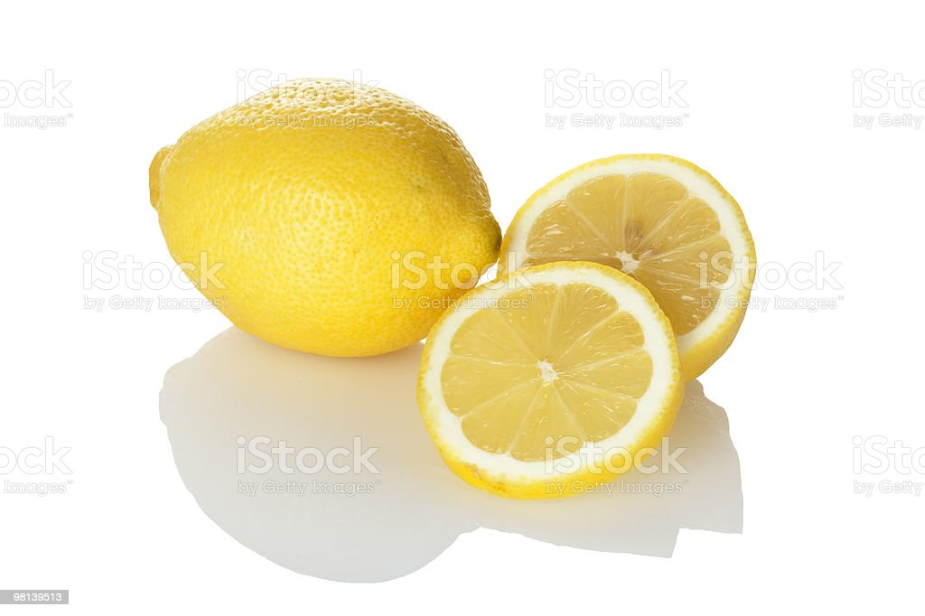lemon and slices royalty-free stock photo