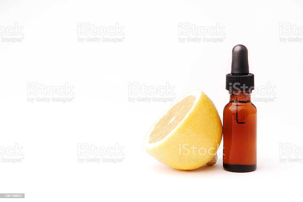 Lemon Aromatherapy stock photo