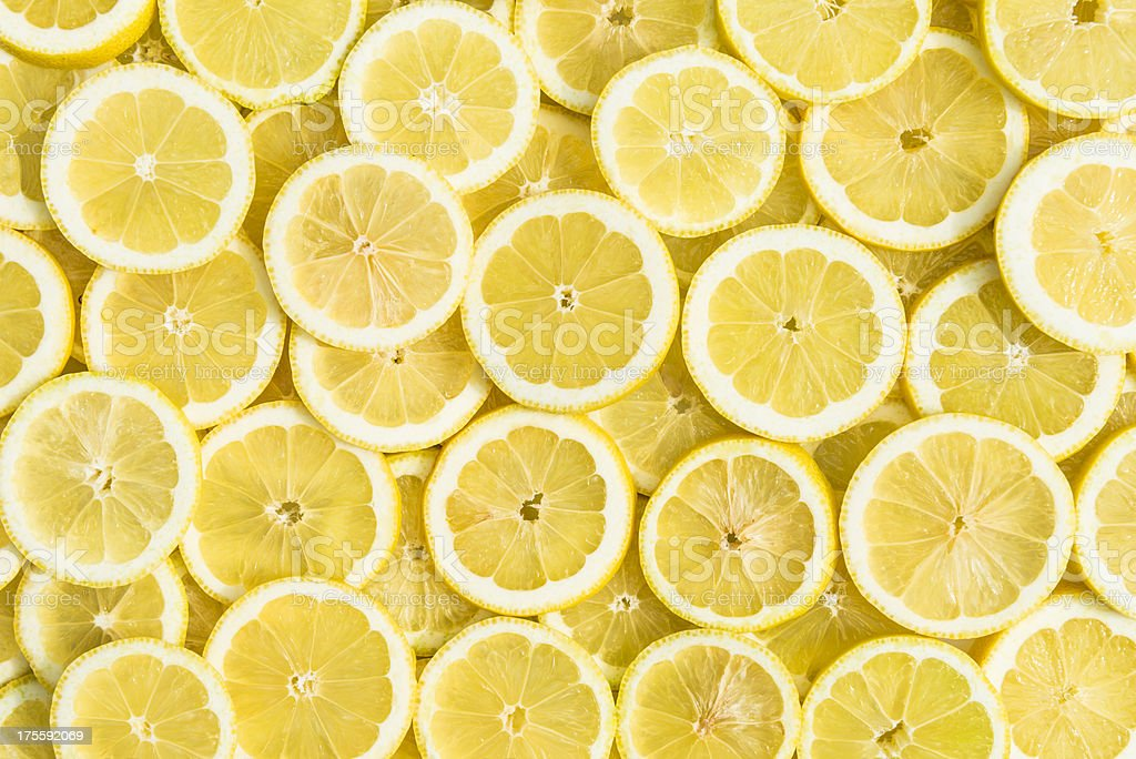 Sfondo di limone - Foto stock royalty-free di Agrume