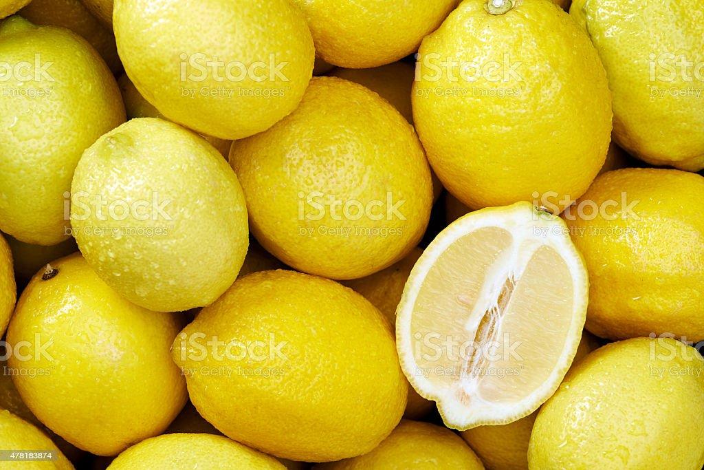 Lemon Hintergrund – Foto