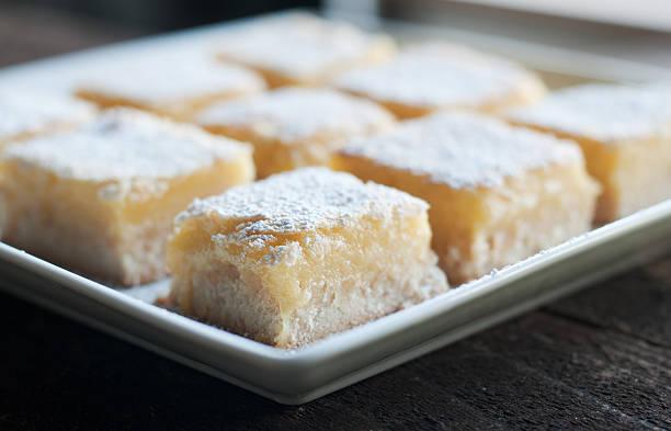 Lemon Bars stock photo