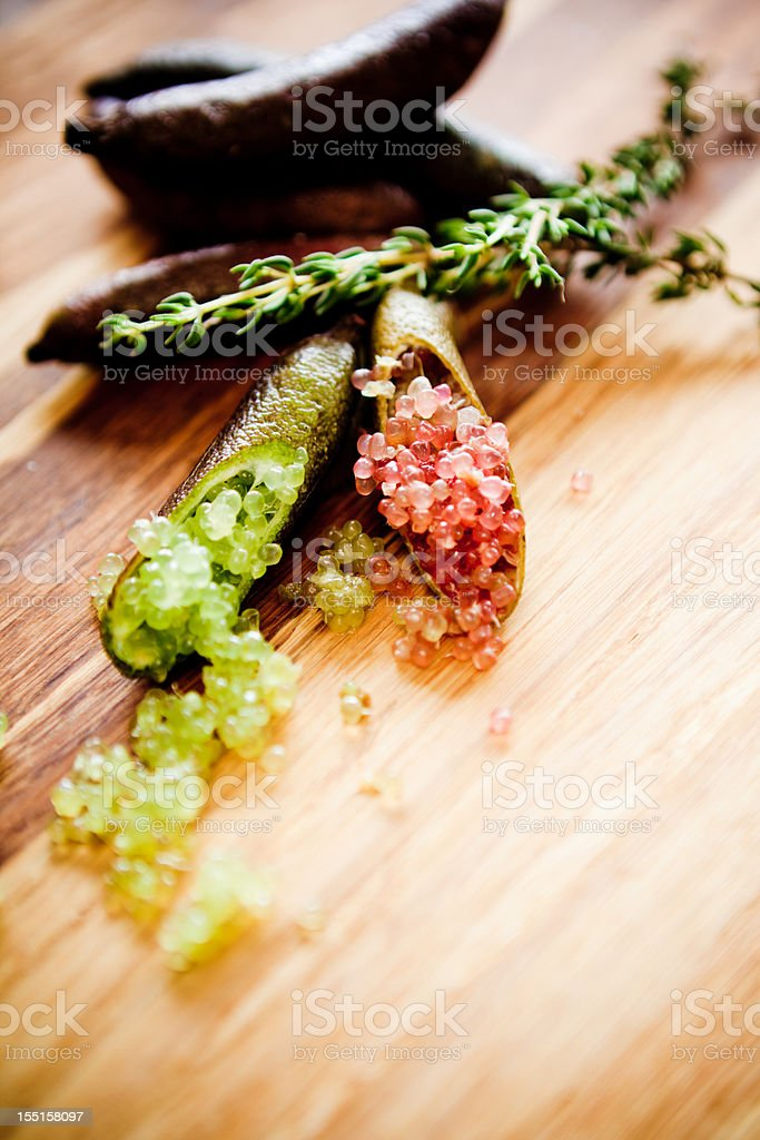 Lemon Caviar stock photo