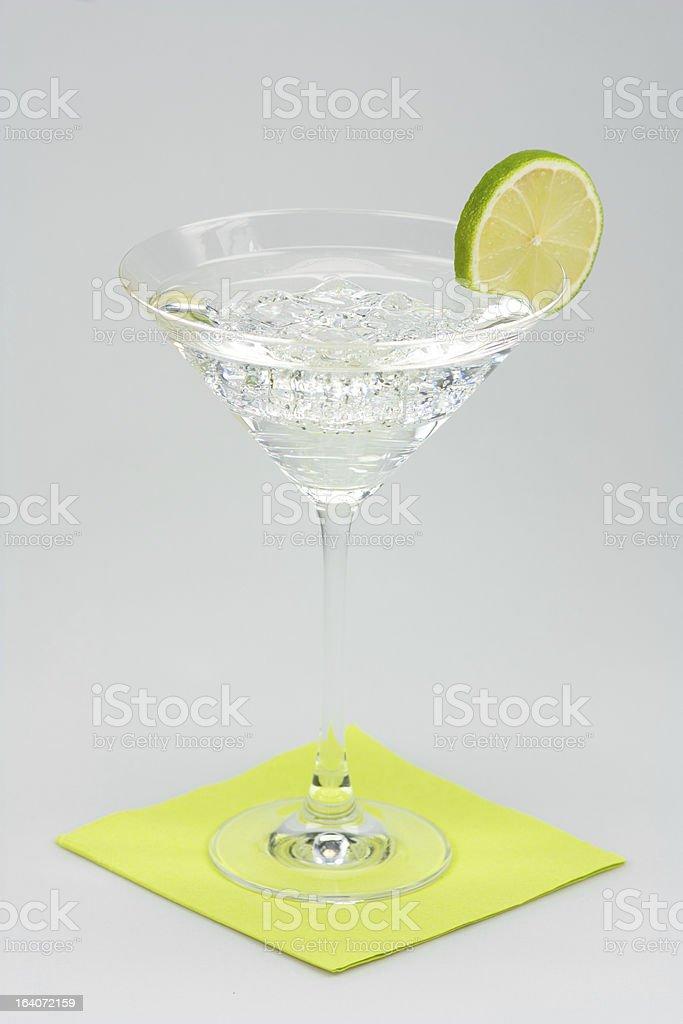 Lemon Cocktail royalty-free stock photo