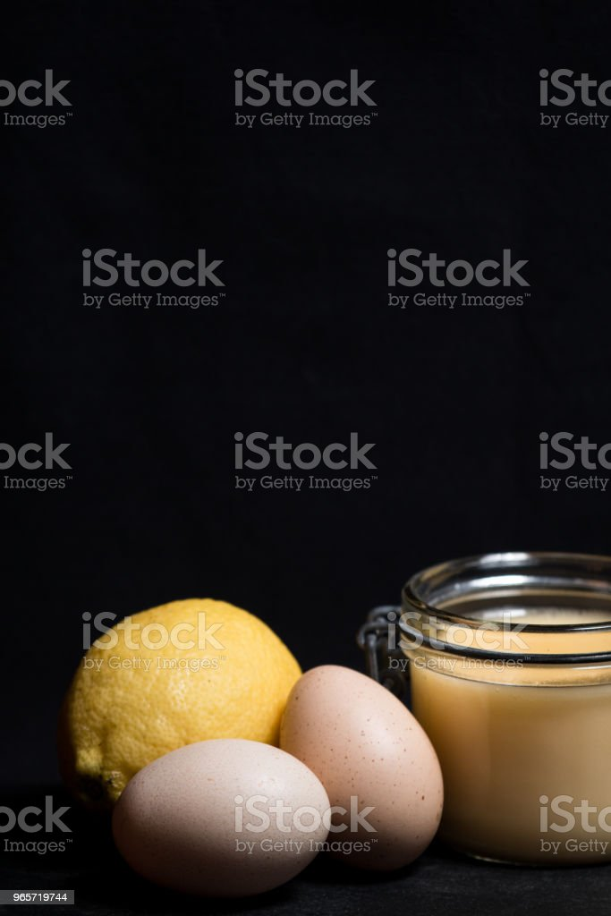 Lemon curd - Royalty-free Candy Stock Photo