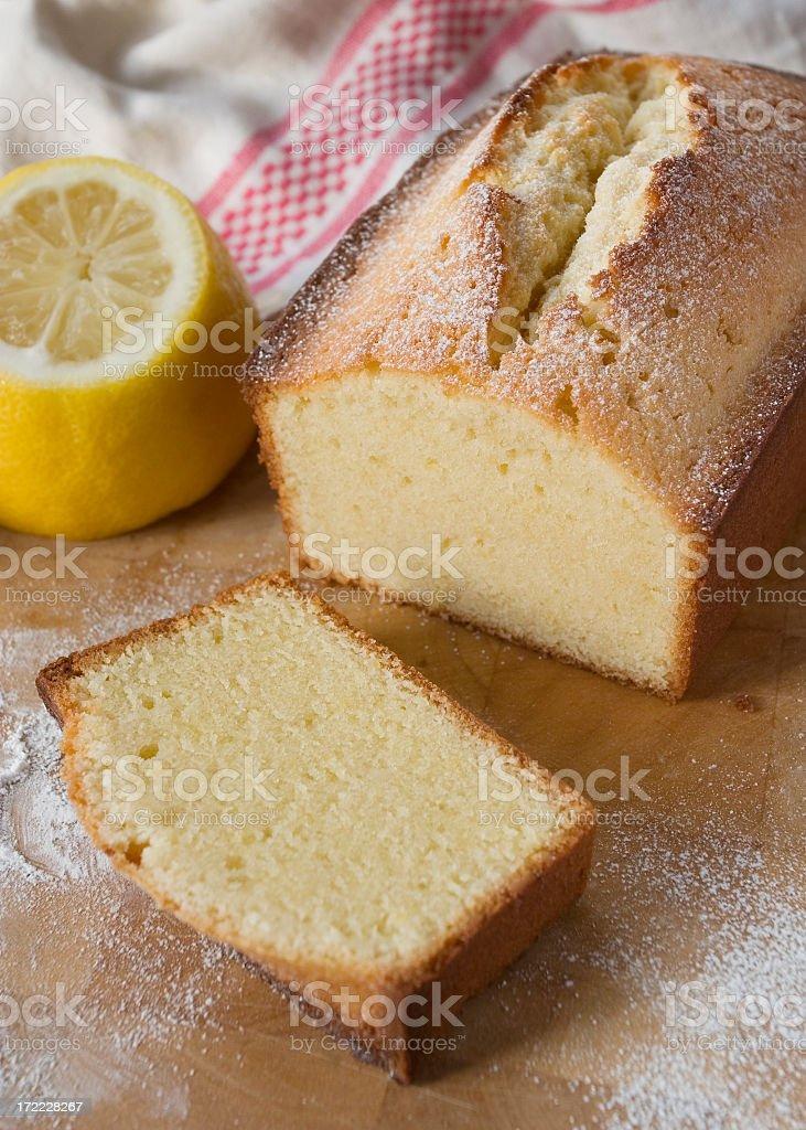 Bolo com sabores de limão. - foto de acervo