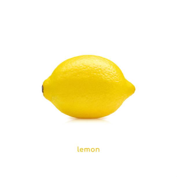 Lemon fruit Lemon fruit isolated on white background limoen stock pictures, royalty-free photos & images