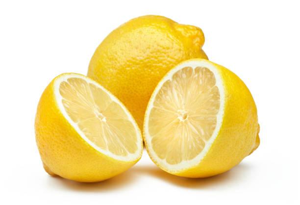 owoce cytrynowe wyizolowane - cytryna zdjęcia i obrazy z banku zdjęć