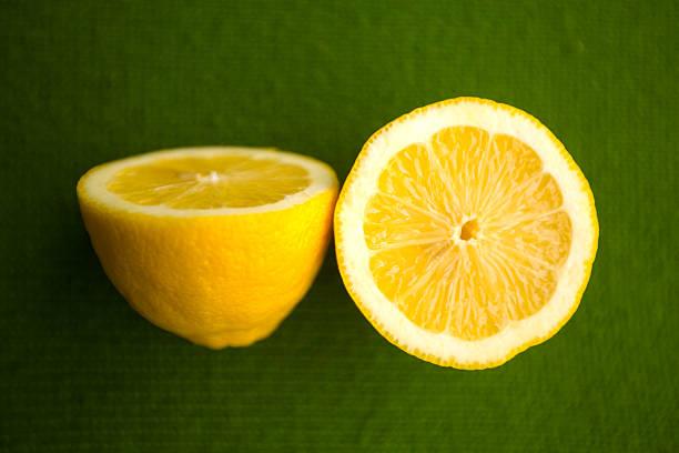 Zitrone Hälfte des – Foto